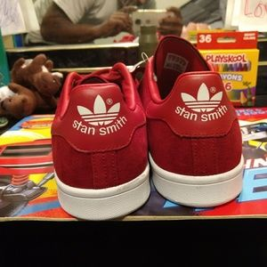 Stan Smith Red Suede Adidas